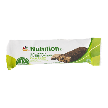 Ahold Nutrition Balanced Nutrition Bar Fudge Graham