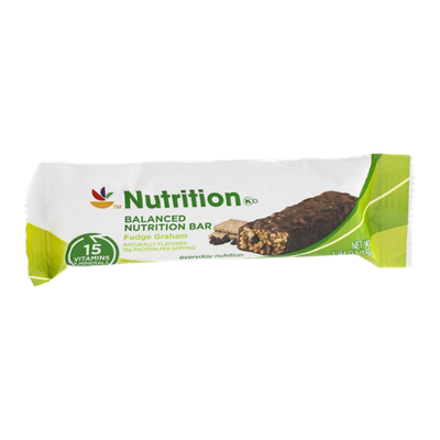 Ahold Nutrition Balanced Nutrition Bar Fudge Graham