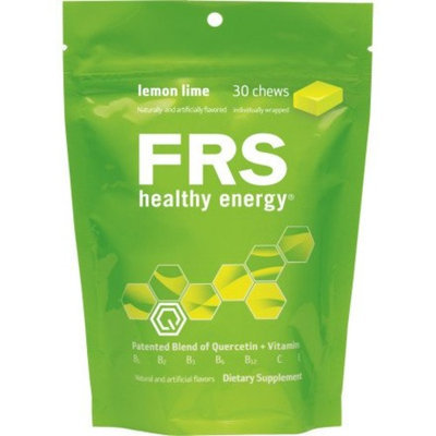 FRS Healthy Energy Chews, Lemon Lime, 30-Count Bag