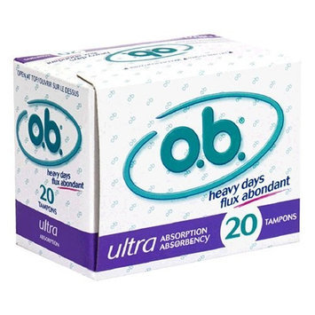 o.b. Tampons, Ultra Absorption 20 tampons