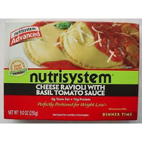 NUTRISYSTEM ADVANCED Cheese Ravioli with Basil Tomato Sauce 10 oz
