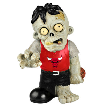 Recaro North Forever Collectibles NBA Resin Zombie Figurine, Chicago Bulls