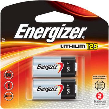 Energizer Photo 123 Batteries 2 Count (EL123APB2)