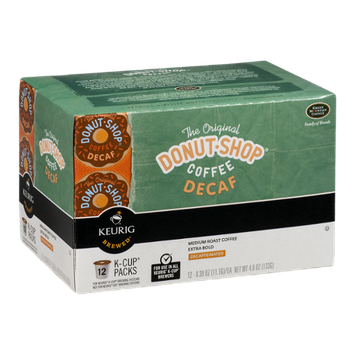 Green Mountain Coffee The Original Donut Shop Coffee Decaf K-Cups - 12 CT