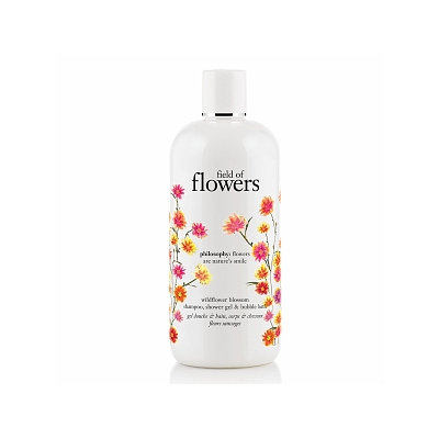 philosophy field of flowers shower gel