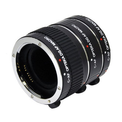 Opteka Auto Focus DG EX Macro Extension Tube Set for Canon EOS-M Mirrorless Digital Cameras (10mm/16mm/21mm)