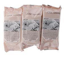 Josie Maran Bare Naked Argan Wipes, Set of 3 Packs