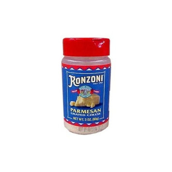 Ronzoni Grated Parmesan 3 oz. (3-Pack)