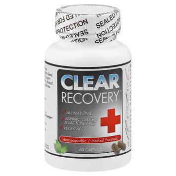 Clear Products - Clear Recovery Homeopathic/Herbal Formula - 60 Vegetarian Capsules