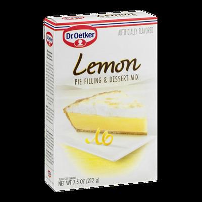 Dr. Oetker Pie Filling & Dessert Mix Lemon