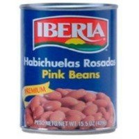 Iberia World Foods Beans, Pink, W/S, 15.50-Ounce (Pack of 24)