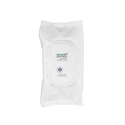 Seventh Generation Lavender Refreshing Facial Wipes