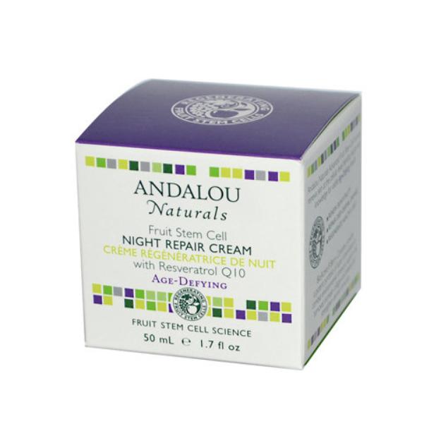 Andalou Naturals Fruit Stem Cell Night Repair Cream