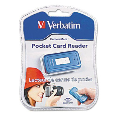 Verbatim CameraMate Pocket Reader, MS/MS Pro Duo, Blue