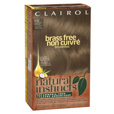 Clairol Natural Instincts Brass Free Haircolor