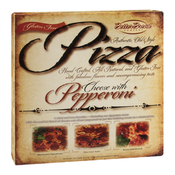 Better Bread Pizza Cheese With Pepperoni Gluten Free