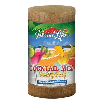 Island Life 2174031 5ct Cocktail Mix Variety Pack Eco-Canister - 6 Packs