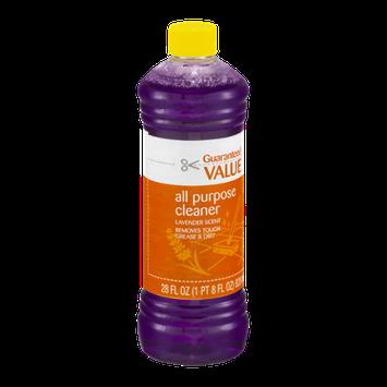 Guaranteed Value All Purpose Cleaner Lavender Scent