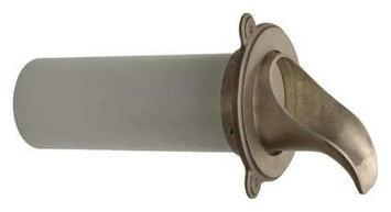 ZURN INDUSTRIES ZARB199-8-PVC Nozzle,4-59/64in.L,Bronze,8inOpeningSize