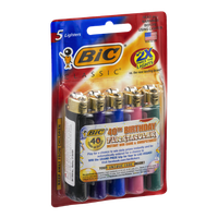 BIC Lighters Classic - 5 CT