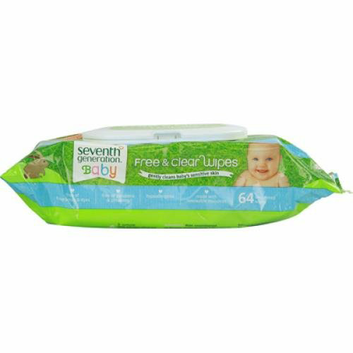 Seventh Generation Free and Clear Baby Wipes