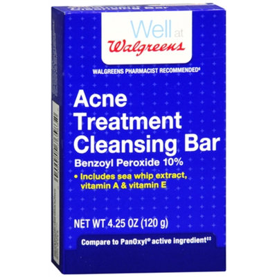 Walgreens Acne Treatment Cleansing Bar