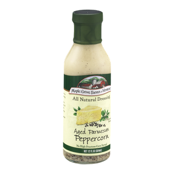 Maple Grove Farms of Vermont Gluten Free Dressing Aged Parmesan Peppercorn