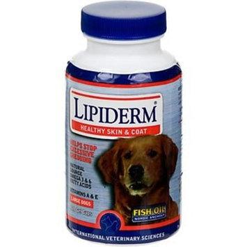 International Veterinary Sciences Lipiderm For Lrg Breeds 120 Gel Caps