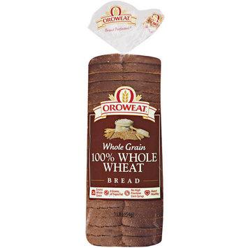 Oroweat Whole Grain 100% Whole Wheat Bread, 16 oz