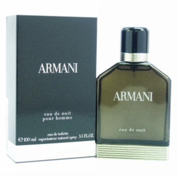 Armani Eau de Nuit Eau de Toilette Spray, 3.4 fl oz