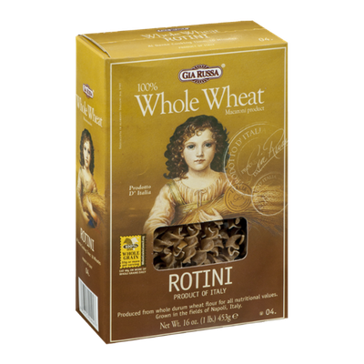 Gia Russa 100% Whole Wheat Rotini