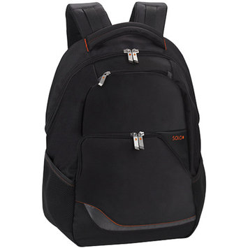 Solo VTR7244 Laptop Backpack Lightweight 12inx4-1/2inx17in Black