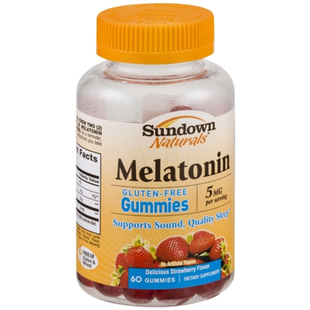 Sundown Naturals Sundown Natural Melatonin Gummies - 60 Count