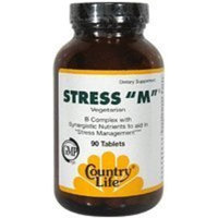 Country Life Stress-m B-complex, 90-Count