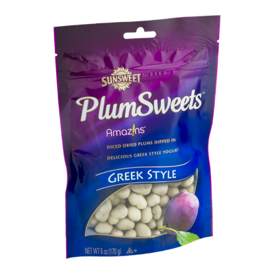 Sunsweet PlumSweets Amazins Diced Dried Plums Dipped in Greek Style Yogurt