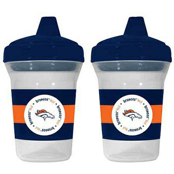 Baby Fanatic NFL Denver Broncos 2-Pack Sippy Cup