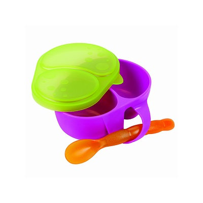 Sassy First Solids Feeding Bowl with Spoon