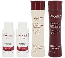 Keranique 4-Piece Hair Regrowth Treatment System