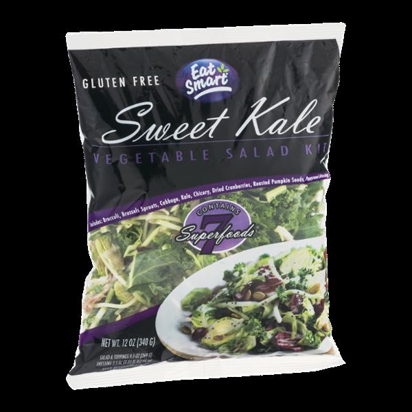 Eat Smart Sweet Kale Vegetable Salad Kit