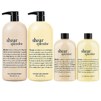 philosophy shear splendor home and away 4-piece set