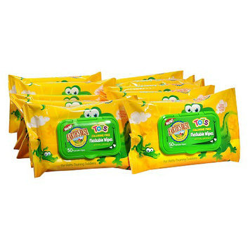 Earth's Best TenderCare Tots Chlorine Free Flushable Wipes 12 Pack