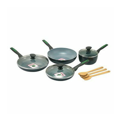 Green Pan 10 Piece Ceramic Non-Stick Interior Cookware