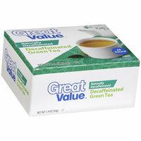 Great Value Decaffeinated Green Tea Tea Bags