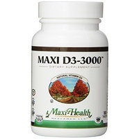 Maxi D3-3000 Nutrition Supplement, 180 Count
