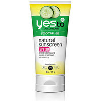 Yes to Cucumbers Natural Sunscreen