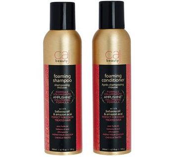 Caj Beauty Foam Mousse 6.7 fl. oz. Shampoo and Conditioner