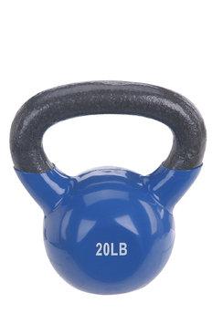 Sunny Health & Fitness Vinyl Coated Kettle Bell-20LB