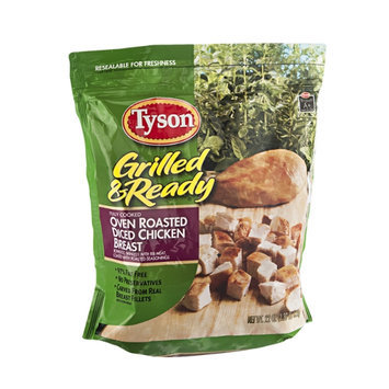 Tyson Grilled & Ready Diced Chicken Breast Oven Roasted