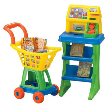 American Plastic Toys My Very Own Shop and Play Market Set