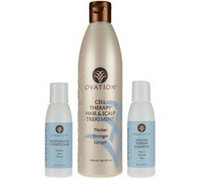 Qvc Ovation Cell Therapy Treatment with Travel Shampoo & Conditioner